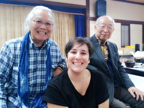 Nihihara san, Doi Hiroshi Sensei e Irene García